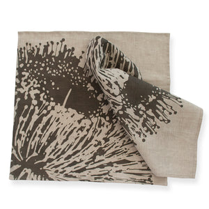 Napkin Pair - Mallee Charcoal