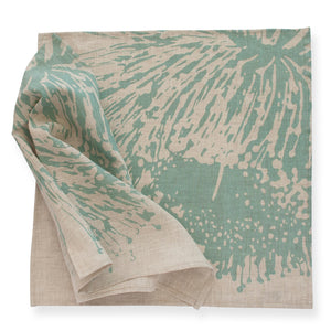 Napkin Pair - 'Mallee' Soft Turquoise