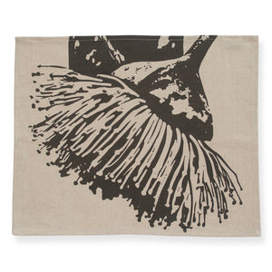 Mallee Charcoal Placemat Pair