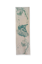 Table Runner 'Mallee Bud' in Eucalyptus Blue