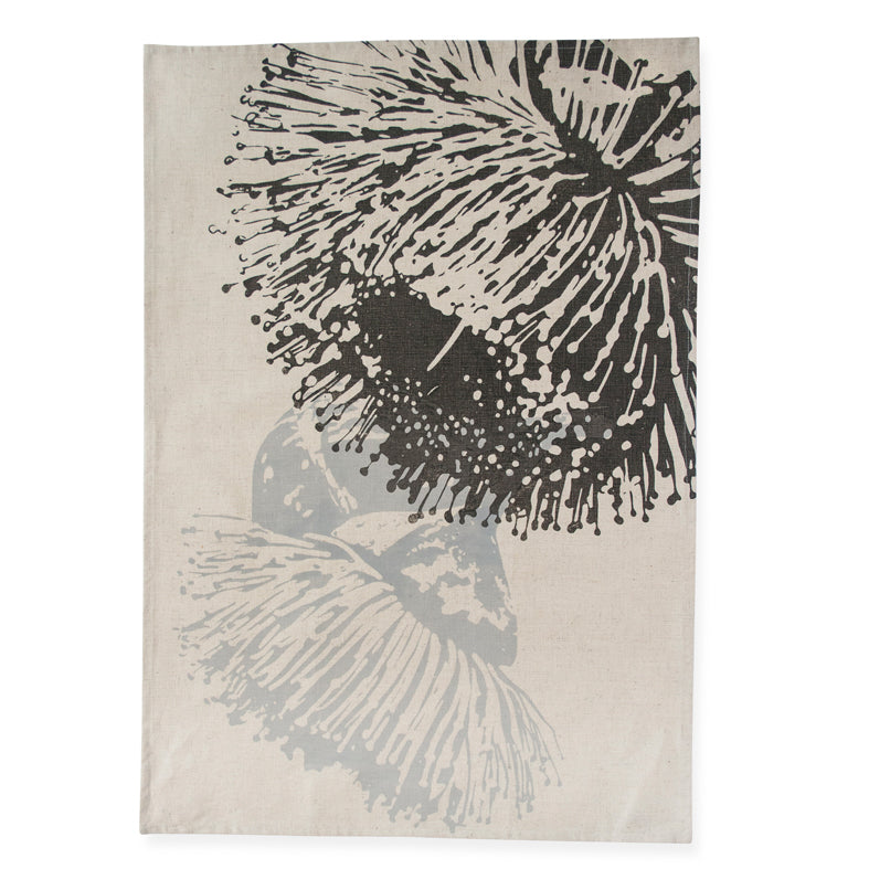 Mallee Charcoal Tea Towel