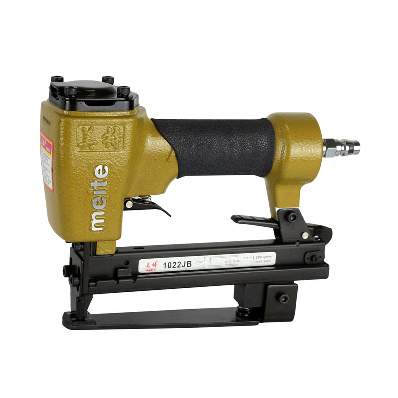 "MT1016J 20GA 10J Series 7/16'' crown New-Designed Low Air Consumption Long Service Life Max 5/8"" Pneumatic Upholstery Stapler Fine Wire Stapler"