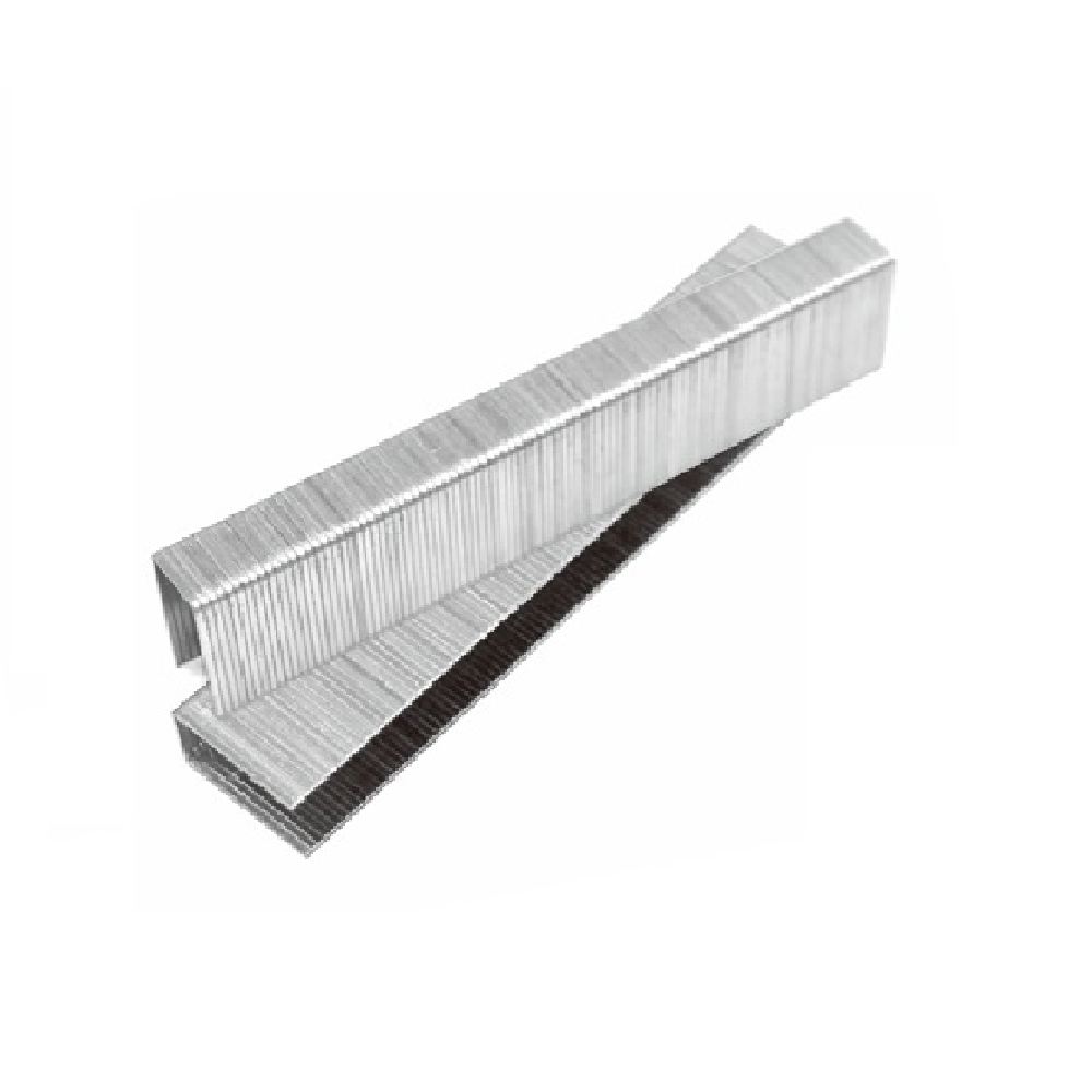 "20 Gauge 10J Series 7/16"" Crown 1/4"" to 7/8"" Length Galvanized Fine Wire Staples - Meite USA"
