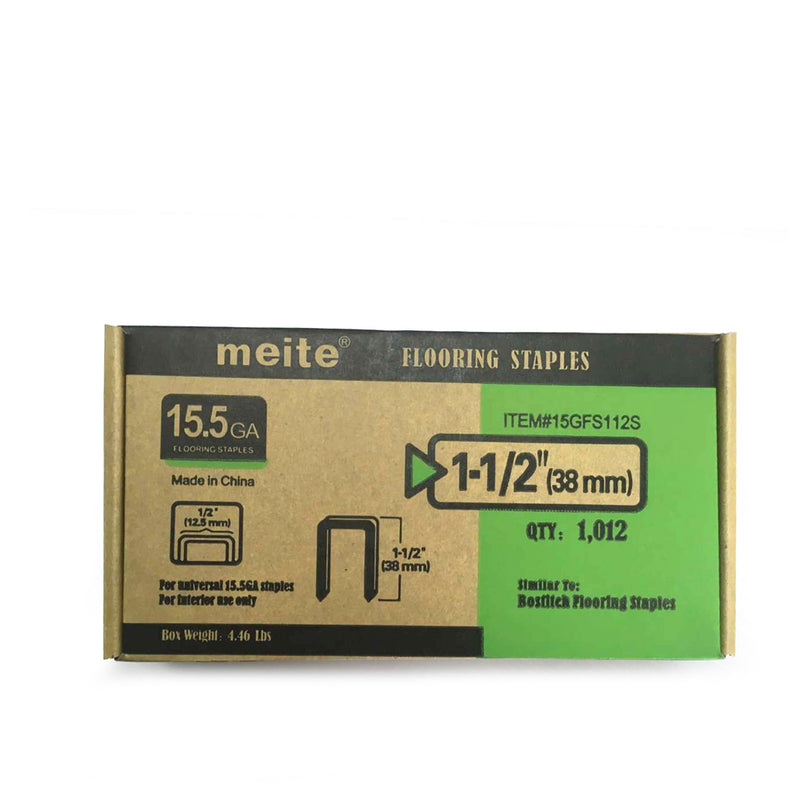 "15-1/2 Gauge 1-1/2"" to 2"" Flooring Stapler Flooring Nailer - Meite USA"
