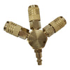 3-Way 1/4'' Quick Coupling Manifold - Meite USA