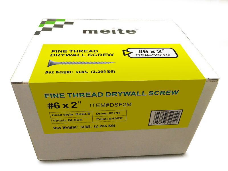 Drywall Screws 1-5/8'' Fine Thread