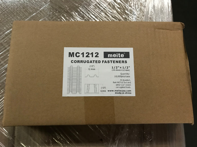 "1/2"" Crown Corrugated Nails - Meite USA"