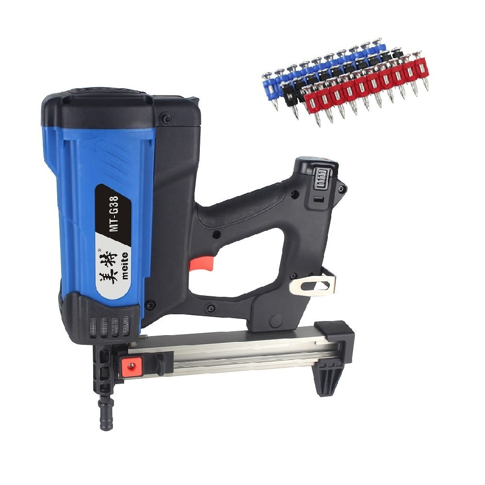 MT-G38 12 Gauge 7/8-inch to 1-1/2-inch Leg Length Gas-Powered Cordless Nailer Concrete Nailer Framing Nailer Gas tool