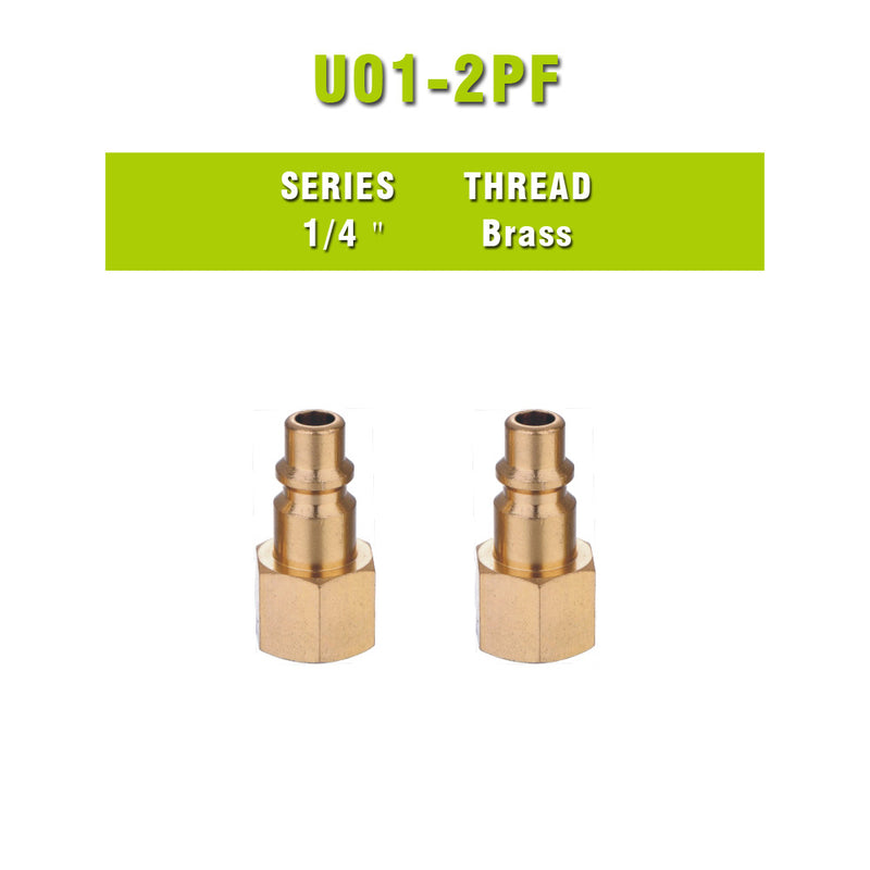 Brass Thread Female Coupler Quick Coupler air hose connector