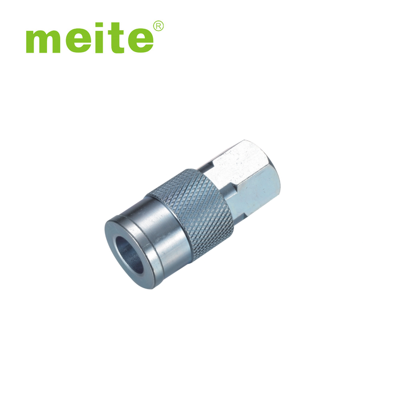 Milton Type 1/4'' NPT Steel Thread Female Quick Coupler - Meite USA