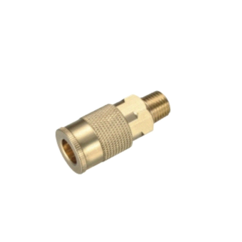 Milton Type 1/4'' NPT Industrial Thread Male Quick Coupler