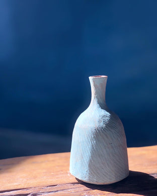 Modern form vase hand made pottery (Modern Form Pottery)