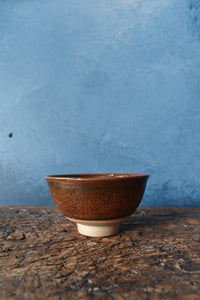 Red Earthy Bowl S | Glazed | Raw Detail