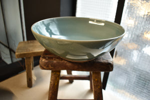 Green Bowl XL | Celadon | Glazed