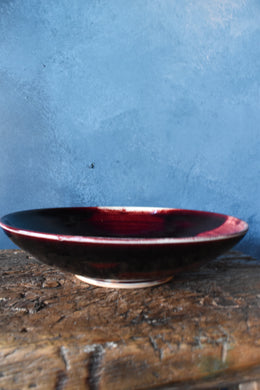 Deep Red Bowl | L | Glazed
