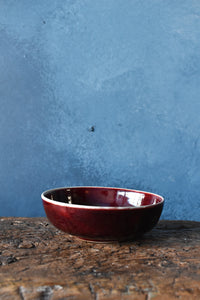 Deep Red Bowl | S | Glazed