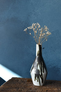 Black and White Vase | S