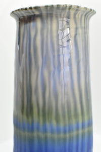 Tall Vase | Blue-Purple | Detailed Inside and Out