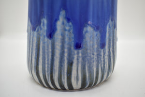 Tall Vase | Blue-Purple | Detailed Inside and Out (4)