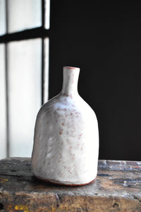 White and Red Vase XS | Contemporary Design | Pachana Studio
