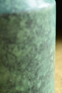 Small Turquoise Speckled Vase