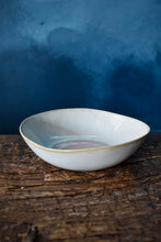 White and Pink Bowl | S | Textured Surface