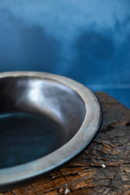Black Bowl | S | Rustic Rim