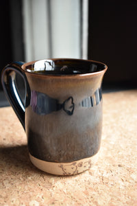 Dark Blue Mug | Earthy Details | Glazed