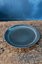 Black Side Plate | Uneven Shape | Matte