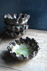 Floral Shaped Bowl | XS | Green