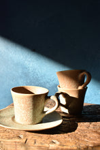 Earthy Speckled Cup + Saucer