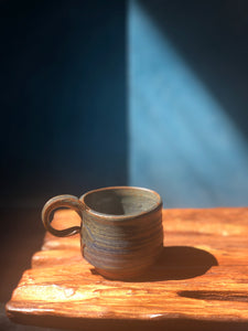 handcrafted cup, Modern Form Pottery, art