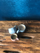 Tiny mug, Modern Form Pottery, handcrafted pottery, art
