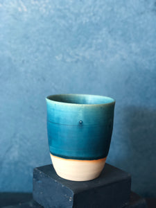 SOLD OUT | Blue Mug, Delicate Handmade pottery