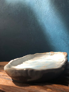 Handcrafted tray, Modern Form Pottery, handcrafted pottery, art