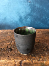 Light Charcoal/Rustic, Textured Speckles, Handmade Cup
