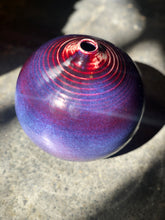 Kinyo - Rouge Flambe' Vase / Copper Red ; Special Technique/Colour Purple and Copper Red Large Vase