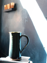 Large Tall Jug: Special Colour Que-Green Pitcher
