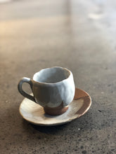 SOLD | Free Form Coffee Cup, Semi Glazed