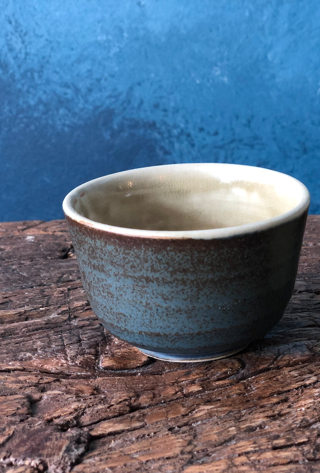 Chinese Teacup, Handmade Pottery