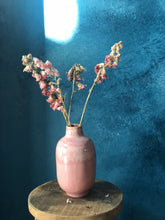 Pick-White Vase, Handmade Pottery