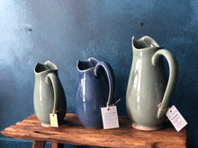 Medium Jug: Green Celadon Pitcher, Handmade