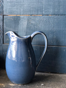 Jug: Deep Blue-Celadon (Medium), Special Colour (Rare), Handmade