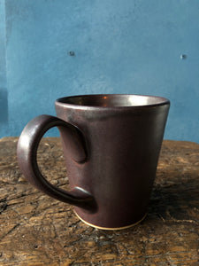 Dark Red Brown Mug, Special Colour, Handmade