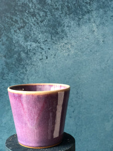 Purple Shade Cup, Handmade