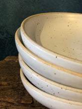 White Speckled Glaze, Dining Plates