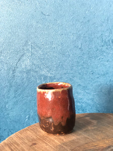 Tiny Uneven Case Handmade mug / Vase, Handcrafted pottery