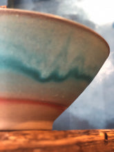 Smooth Turquoise Bowl, Glazed, Handmade