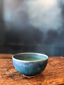 Small Bowl: Blue Turquoise Colour, Glazed,Handmade