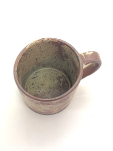 Rough - Coffee Mug, Yellow/Brown based, Semi Glazed, Speckled, Handmade